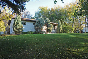 2.18 ACRES -- country living within a town.