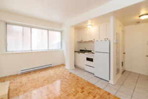 1 1/2 - 3 1/2 - -APARTMENT FOR RENT-MCGILL-DOWNTOWN