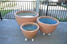 Fish Bowl Pots - Terracotta Waratah Newcastle Area Preview