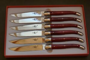 "**NEW**  6 x Forge de Laguiole ""original"""
