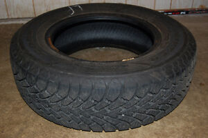 Four lightly-used Goodyear Nordic Winter tires