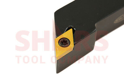 """3/8X3-1/2"""" SDJC Small Screw Lock Positive Insert Indexable Tool Holder DCMT New"""