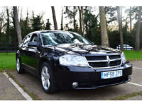 FULLY LOADED 2008 DODGE AVENGER 2.0 CRD SXT 6 SPEED TURBO DIESEL BLACK PX SWAP