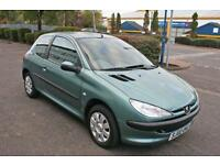 Peugeot 206 Automatic 1 Lady Owner 22000 Miles Showroom Condition