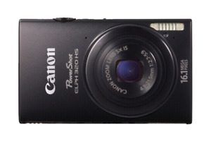 Canon PowerShot Elph 320 hs. With Charger, $160