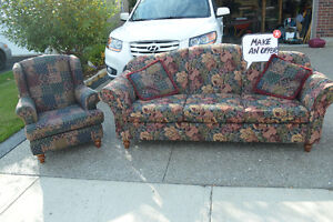 Sofa, all offers considered Kitchener / Waterloo Kitchener Area image 1