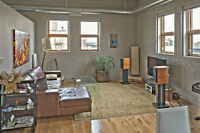 Penthouse Lofts - Urban Live/Work Space in the Exchange!