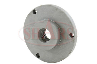 6 Fully Machined Threaded Back Plate 1-12-8 For 3 Or 4 Jaw Self Center Chuck