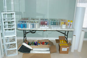 Embroidery Supplies (Value Over $2600)