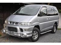 Mitsubishi Delica Spacegear direct Japan Import fully UK reg