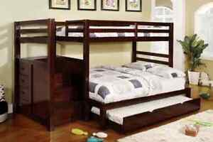 ★LORD SELKIRK FURNITURE★PRINCETON STEP BUNK BED T/T★ $699.00