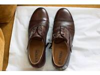 Italian men's Exton leather shoes