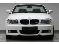 2012 BMW 120D M-SPORT IN WHITE/BLACK LEATHER INTERIOR FROM £47 PER WEEK