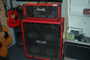 Krank Tube Amplifier Head and Cabinet