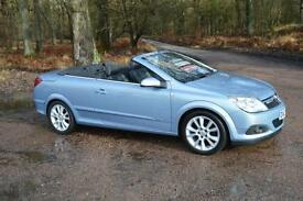 2007 VAUXHALL ASTRA TWIN TOP 1.8 VVT Design 2dr ONE OWNER 17,000 MILES