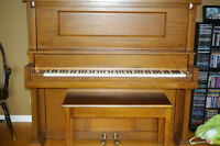 Beautiful Antique Piano Free to Good Home!