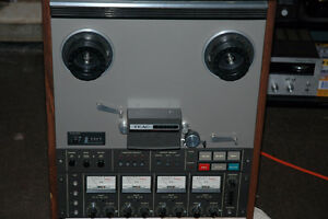Teac 3440 reel to reel 4 channel recorder and 10 new  tapes and