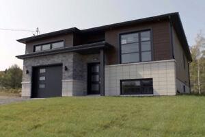 Maison modèle plein-pied contemporain à vendre