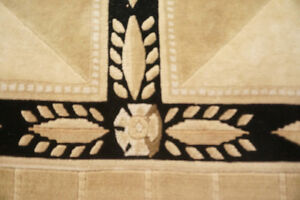 Stunning Wool Rug in Excellent Condition Stratford Kitchener Area image 2
