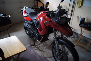 BMW F650GS Motorcycle - Excellent beginner bike - All options