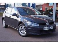 2014 VOLKSWAGEN GOLF 1.6 TDI 105 SE GBP0 TAX, DAB, CRUISE and ALLOYS