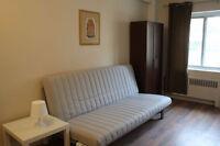 Grand 2½ meublé - Berri/Laurier