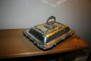 Antique Silver Plated Serving Trays Kingston Kingston Area image 5
