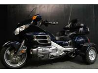 09/09 HONDA GOLDWING GL 1800 DELUXE KIT TRIKE ON/OFF 11,000 MILES