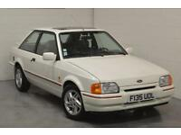 1989 FORD ESCORT MK4 1.6 XR3i Hatchback, 88 Spec, Diamond White, LEFT HAND DRIVE