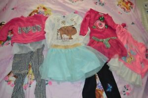 Lot de vêtements fille 5-6 ans