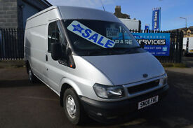 FORD TRANSIT 280 2.2 TD GREAT CONDITION FULL YEARS MOT FULLY SERVICED PLY LINED