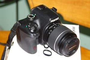 Pentax K-50 Digital SLR with Lens