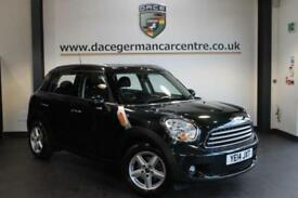 2014 14 MINI COUNTRYMAN 1.6 COOPER D 5DR PEPPER PACK 112 BHP DIESEL