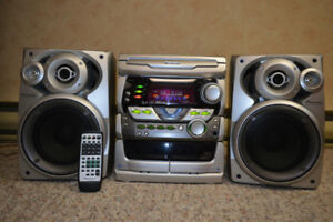 Pioneer- Stereo cd cassette deck receiver