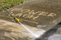 Power washing available at good price.sidings,decks,driveways t.