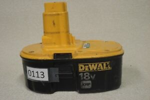 Piles / batteries DeWalt