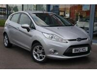 2012 FORD FIESTA 1.25 Zetec [82] B TOOTH, ALLOYS and AIR CON