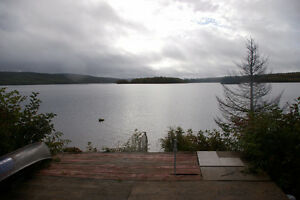 Off grid waterfront on Mactaquac Headpond