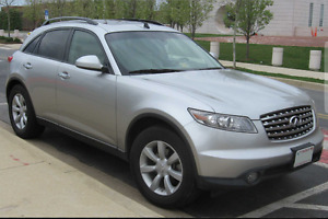 2004 Infiniti Fx 35 - Fully loaded - Navigation -DVD -Backup Cam
