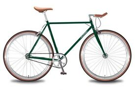 FOFFA SINGLE SPEED BIKE SIZE 54CM GREEN
