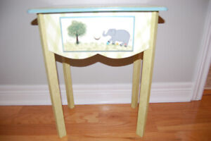 Side Table for baby/toddler's Bedroom