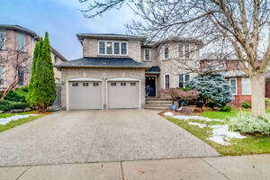 Beautiful 5+1 bedroom home for lease in Oakville