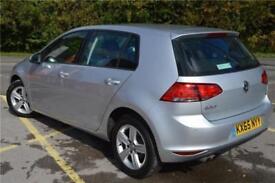 2015 Volkswagen Golf Match 1.4 TSI 125 PS 6-speed manual 5 Door Petrol silver Ma
