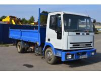 Iveco NEW CARGO 80E15 Tipper 6cyl manual fuel pump, Manual gearbox