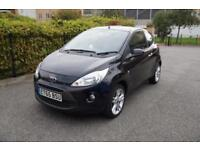 Ford Ka 1.2 ( 69ps ) ( s/s ) 2015.75MY Titanium Black Panoramic Roof