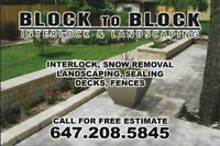 Quality, Affordable Interlock and Landscaping