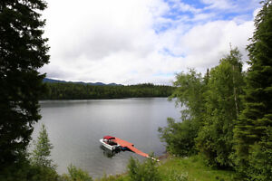 Gorgeous Lakefront Home with Beachfront & Shop on Horsefly Lake! Williams Lake Cariboo Area image 2