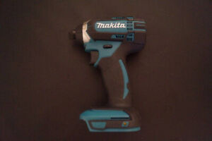 Visseuse Impact Driver 1/4 Makita 18v Lithium --NEUF--