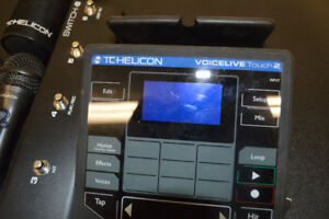 TC Helicon Voice Live Touch 2  with TC Helicon Pedal Switch 6