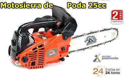 MOTOSIERRA DE PODA 25cc- Espadin de 12